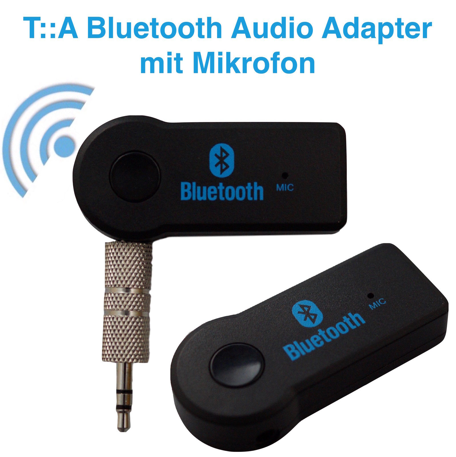 t a bluetooth aux wireless empf nger adapter dongle musik. Black Bedroom Furniture Sets. Home Design Ideas