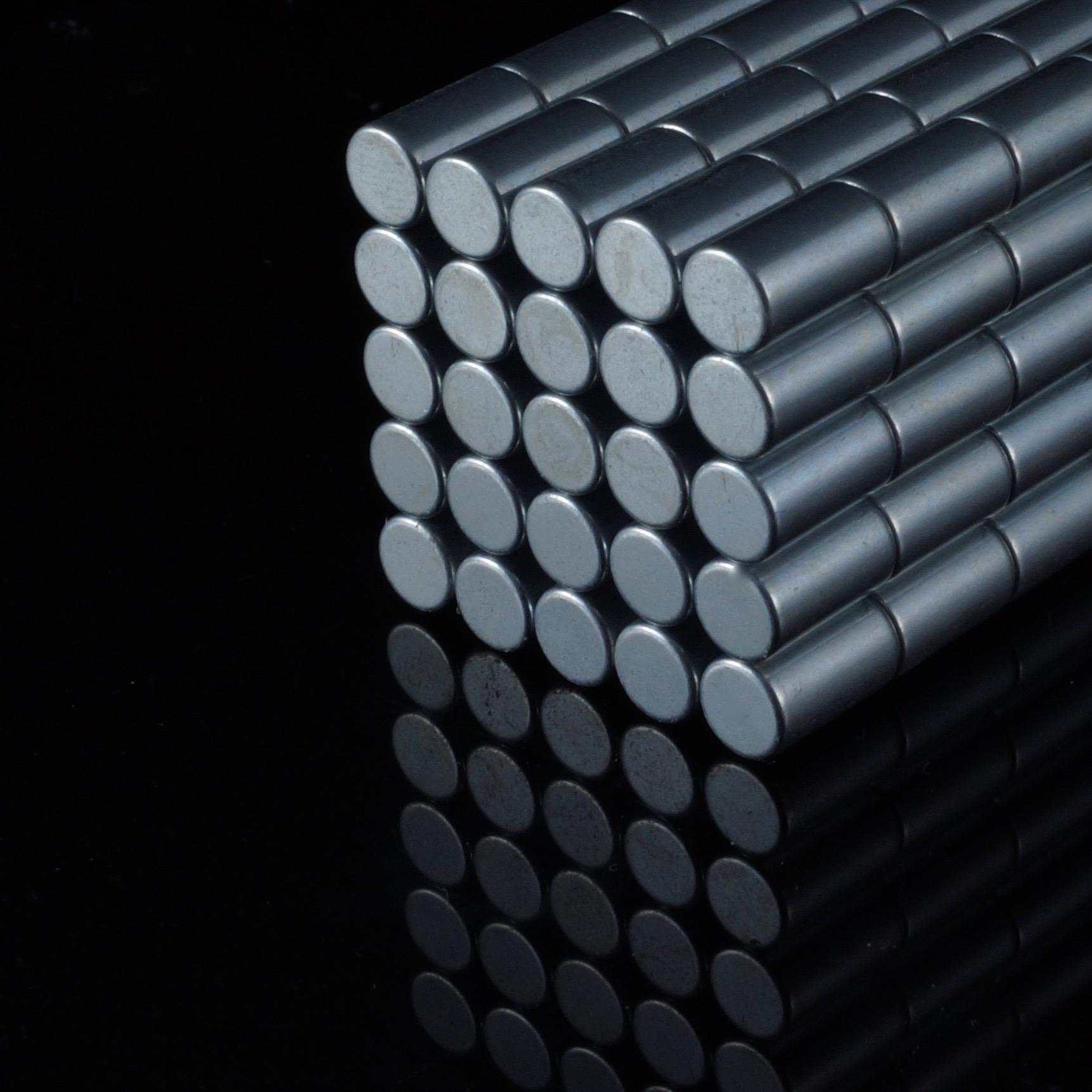 5//10//20//50//100x Neodym Stab Magnete D8x30 mm N48 5,2kg Haftkraft NdFeB rund